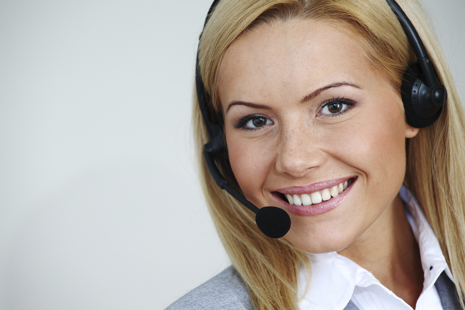woman call with headset